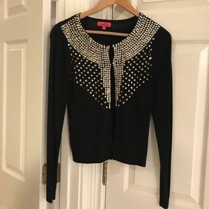Monsoon sequined sweater size S
